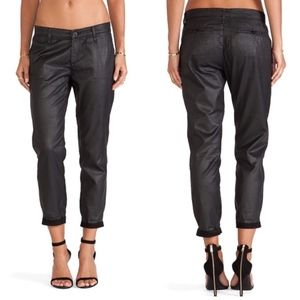 AG The Tristan Tailored Trouser in Leatherette